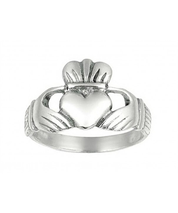 Finejewelers Sterling Silver Polished Holding