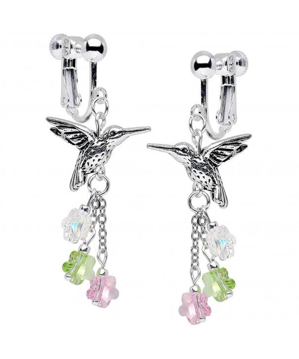 Body Candy Handcrafted Hummingbird Swarovski
