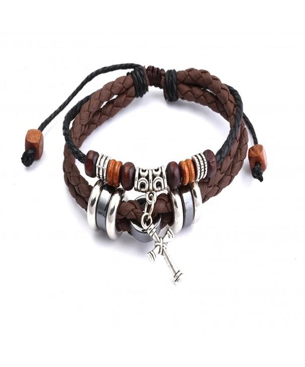 Brown Adjustable Bracelet Unique Present