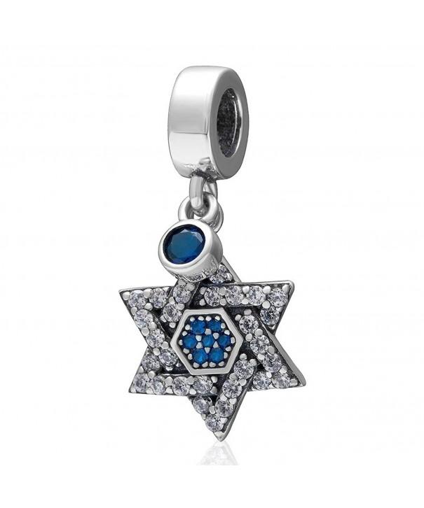 Jewelry Sterling Hexagram Triangle European