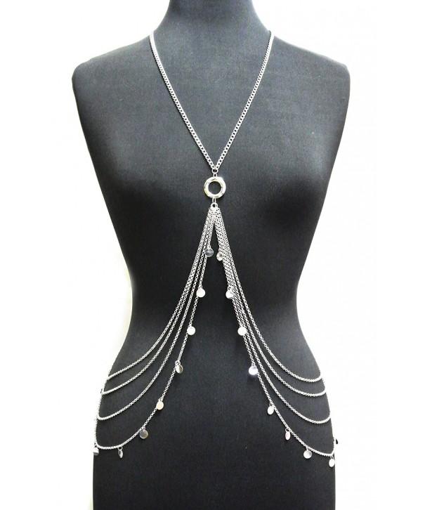 Silver Adjustable Dangling Jewelry IBD1043R