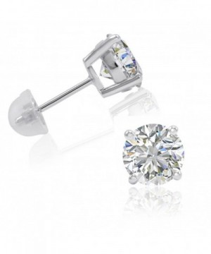 Sterling Silver Earrings Swarovski Zirconia