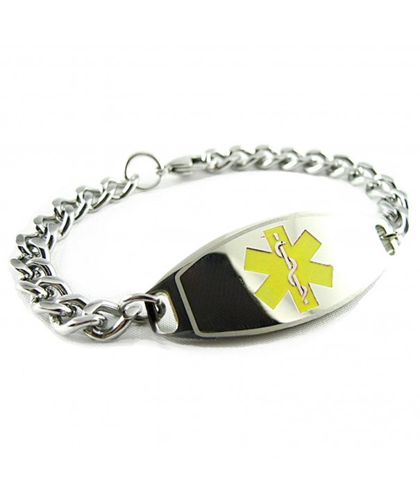 MyIDDr Pre Engraved Customized Gastric Bracelet