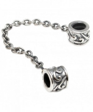 Sterling Silver Flower Safety European