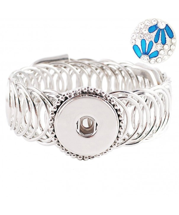 Lovmoment Bracelet Single Button Jewelry