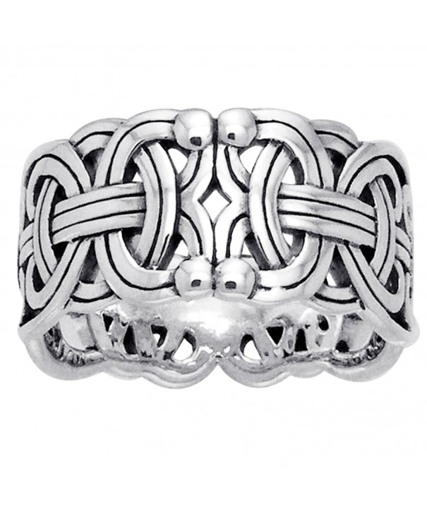 Viking Braided Wedding Sterling Silver