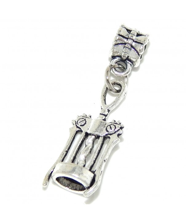 GemStorm Silver Dangling European Bracelets