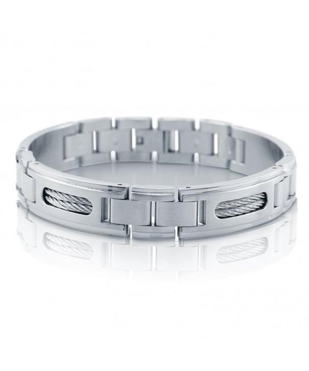 BERRICLE Stainless Steel Fashion Bracelet