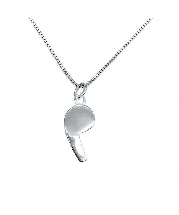Helen Lete Whistle Sterling Necklace
