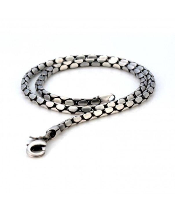 JEWELRY F14 Medium Thickness Silver