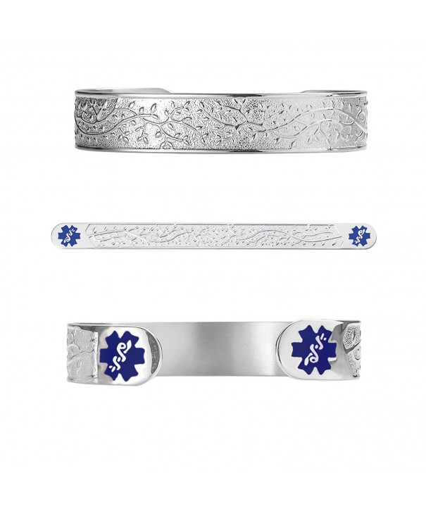 Divoti Engraved Filigree Medical Bracelet