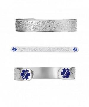 Divoti Engraved Filigree Medical Bracelet