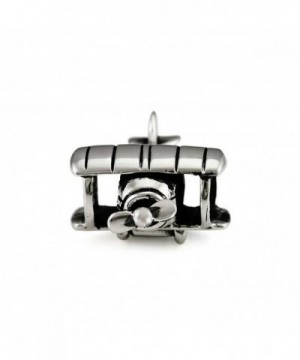 Ohm Beads Sterling Silver Biplane