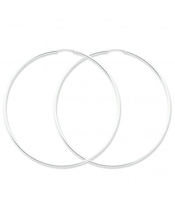 Shop4Silver QE4645 Sterling Silver Earrings