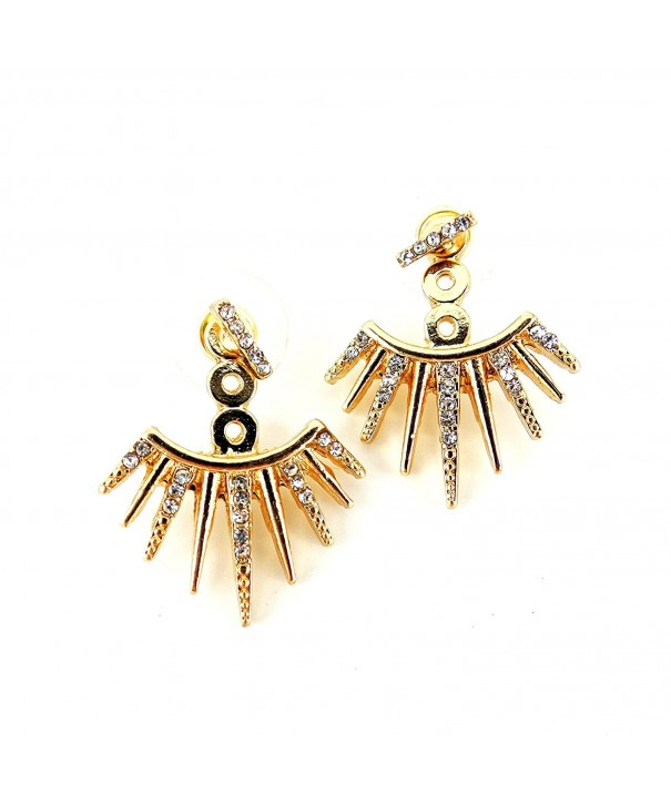 Affordable Jewelry Crystal Jacket Earrings