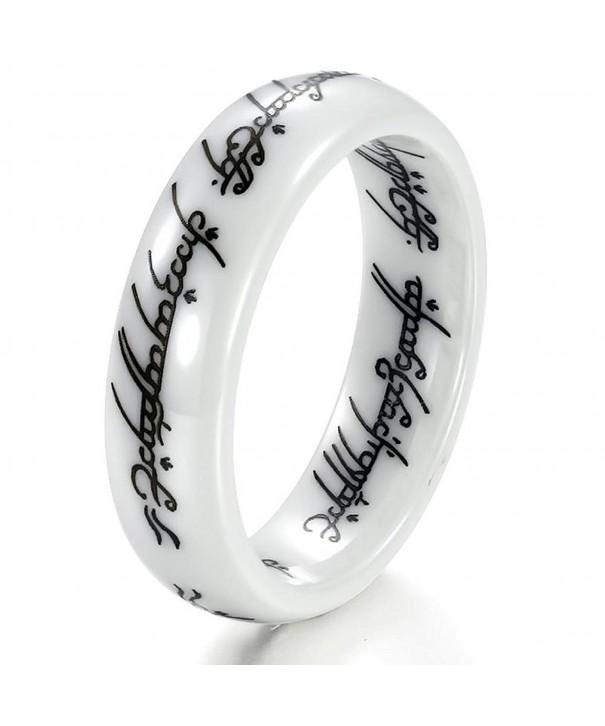 Retro Rings Ceramic Finger Quality