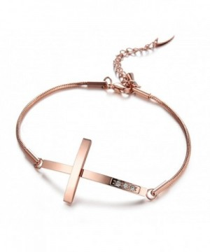 Cross Bangle Bracelet Christian Valentine