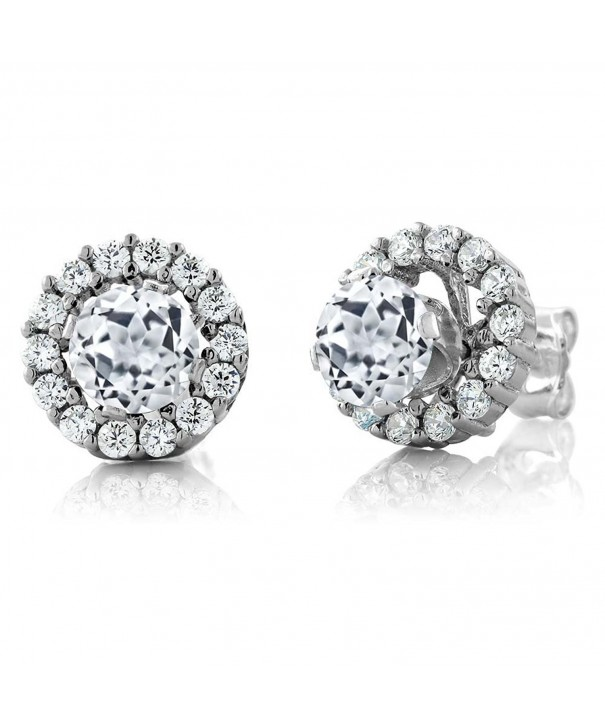 Stunning Sterling Silver Zirconia Earrings