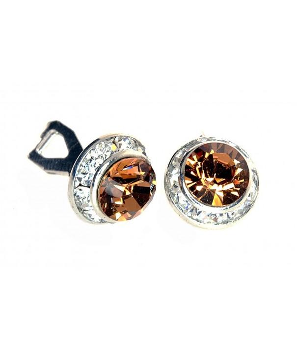 Diameter Earrings Swarovski Elements Crystal