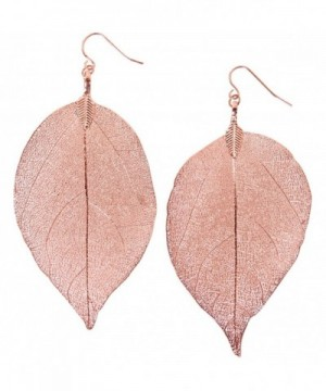 Humble Chic Gold Tone Earrings Lightweight