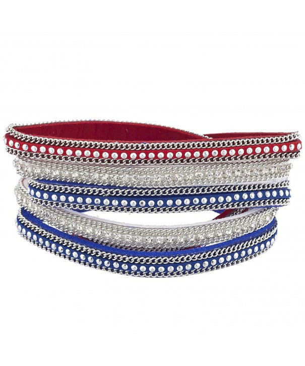 Lux Accessories Independence Magnetic Bracelet