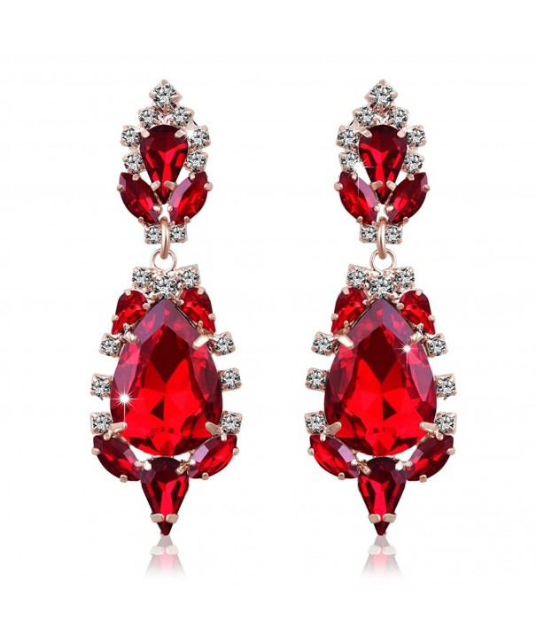 Miraculous Garden Crystal Rhinestone Earrings