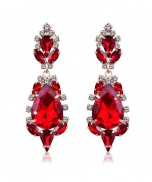 Miraculous Garden Crystal Rhinestone Earrings