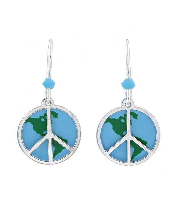 Sienna Sky Peace Dangle Earrings