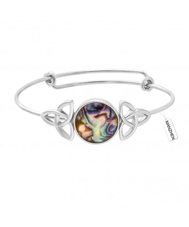 MANZHEN Expandable Adjustable Transparent Bracelets