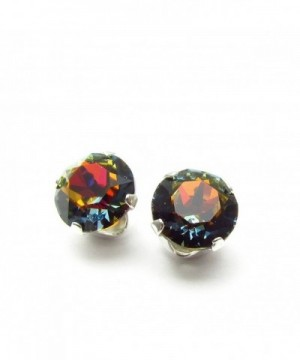 Sterling silver earrings expertly Volcano SWAROVSKI