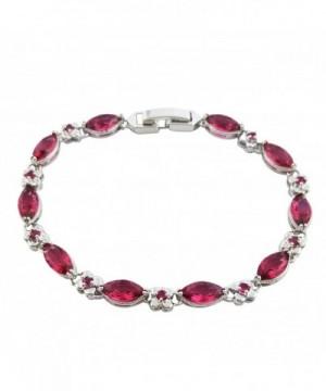 SELOVO Crystal Bracelet Silver Zircon