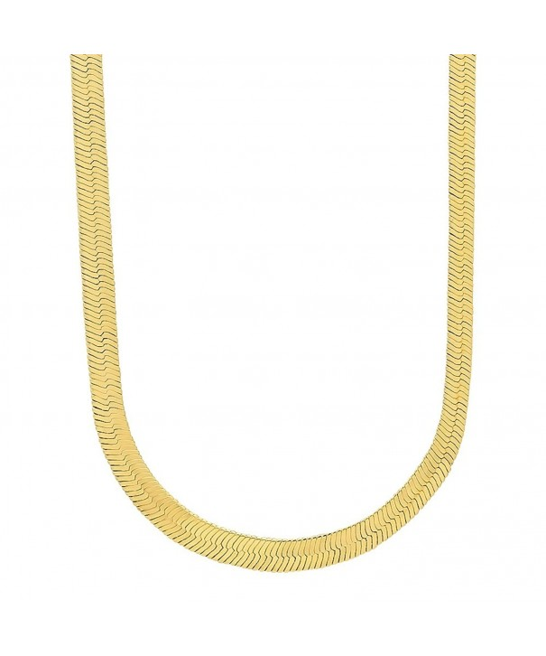 Herringbone Necklace Microfiber Jewelry Polishing