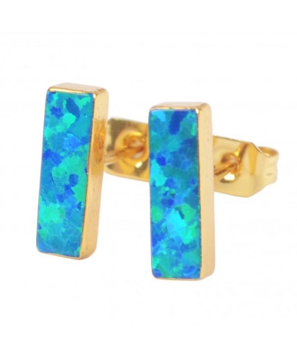ZENGORI Rectangle Japanese Earrings G1423 2