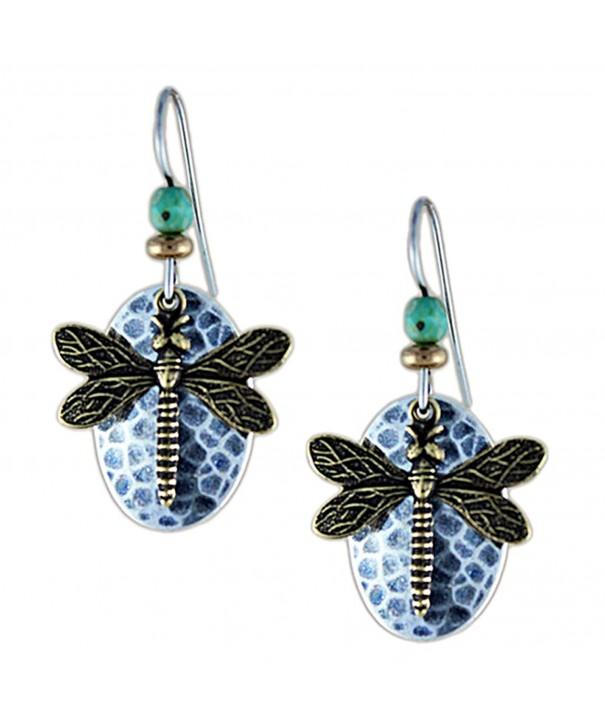 Earth Dreams Dragonfly Earrings E3284BU