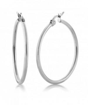 Stunning Stainless Steel Earrings Diameter