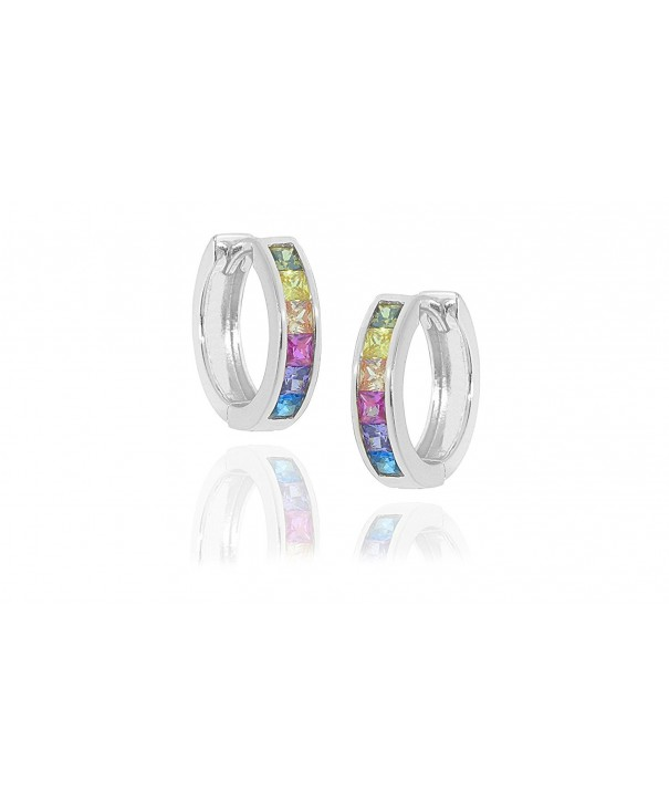 NYC Sterling Rainbow Zirconia sterling