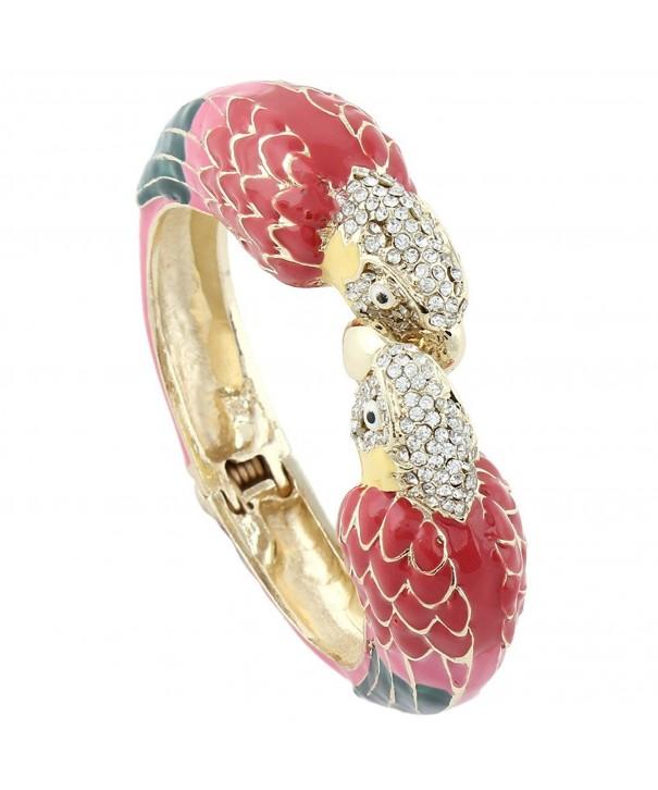 EVER FAITH Austrian Bracelet Gold Tone