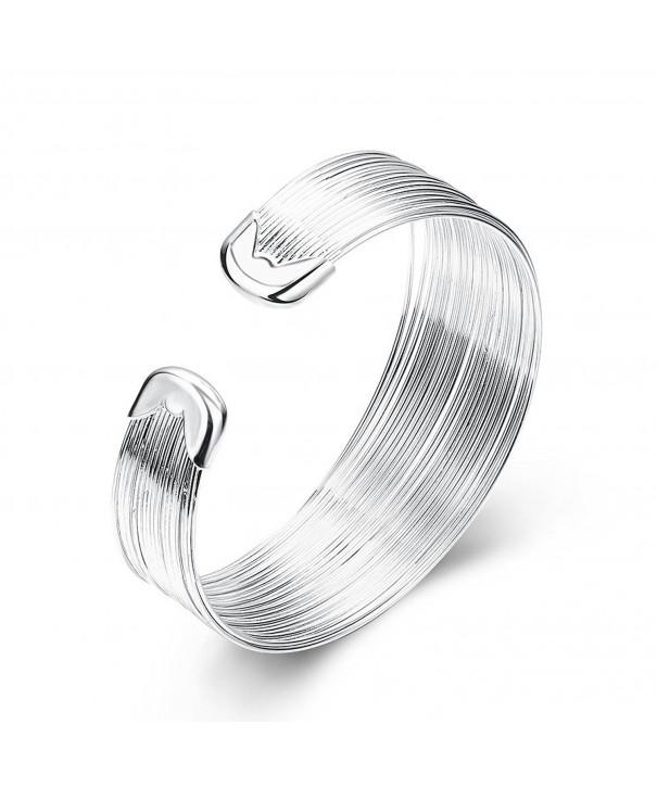 SDLM Bangle Jewelry Hammered Bracelet