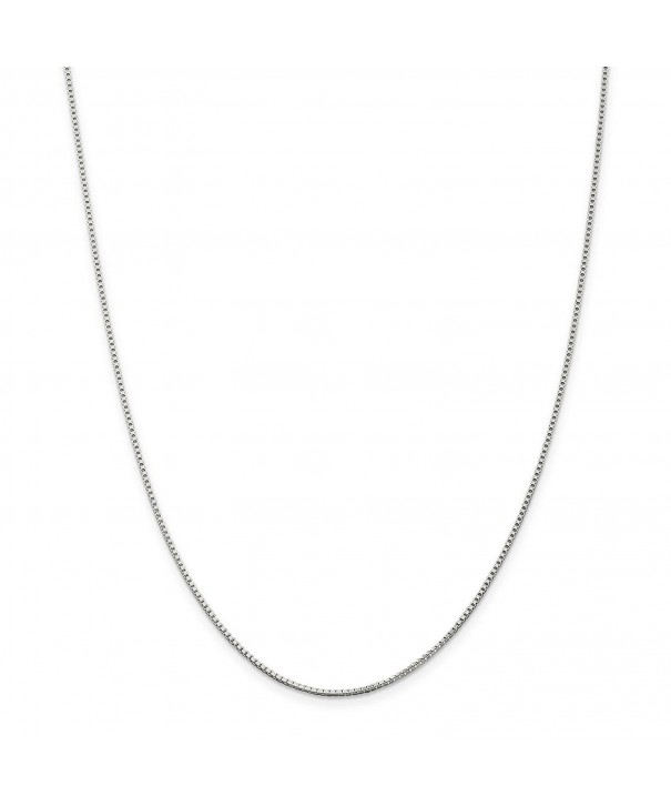 Sterling Silver Solid Polished Necklace