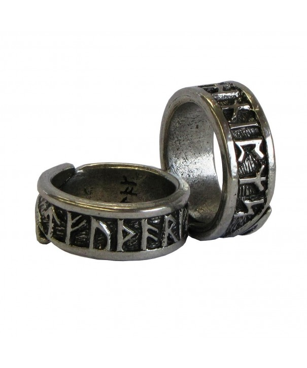 Viking Rune Adjustable Ring Pagan