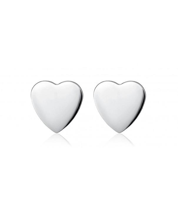 Foreverstore Sterling Silver Heart Earring