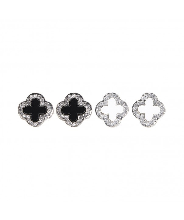 Chiconon Women Fashion Clover Earrings