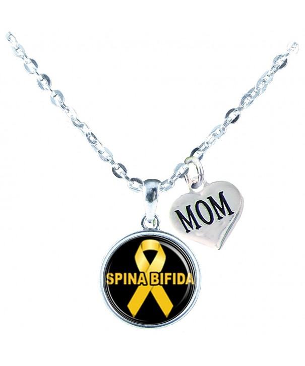 Necklace Custom Bifida Awareness Jewelry