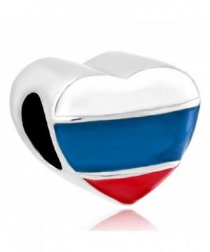CharmsStory Patriotic Russian Charms Bracelets