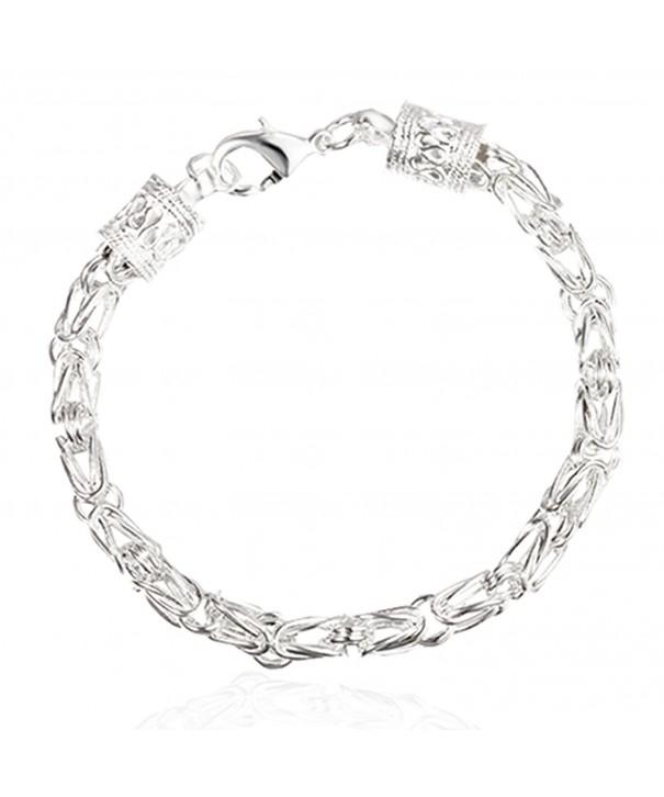 Sephla Sterling Silver Byzantine Bracelet