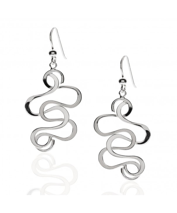 Sterling Silver Medium Statement Earrings