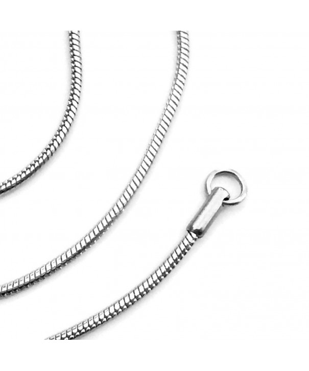 Stainless Steel Snake Necklace Smooth