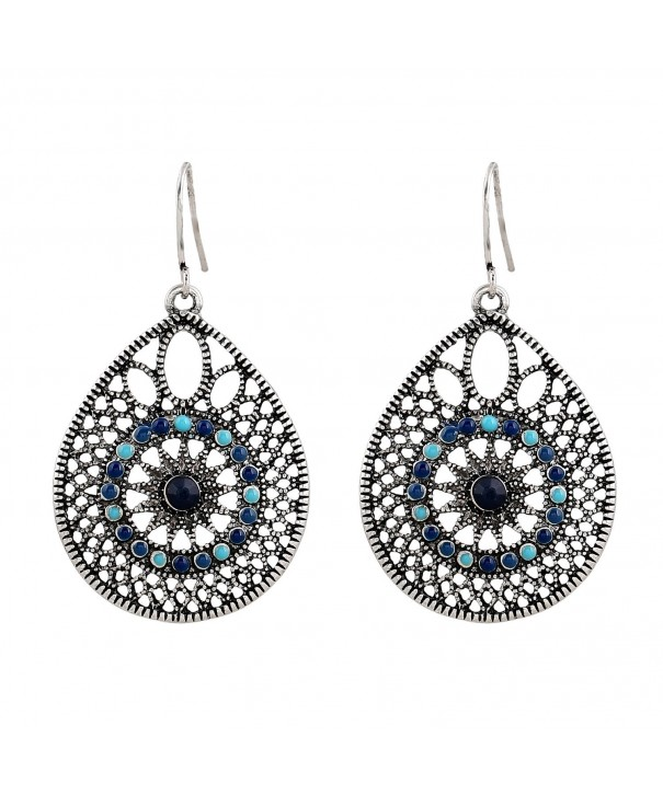 EXCEED Womens Handmade Filigree Earrings