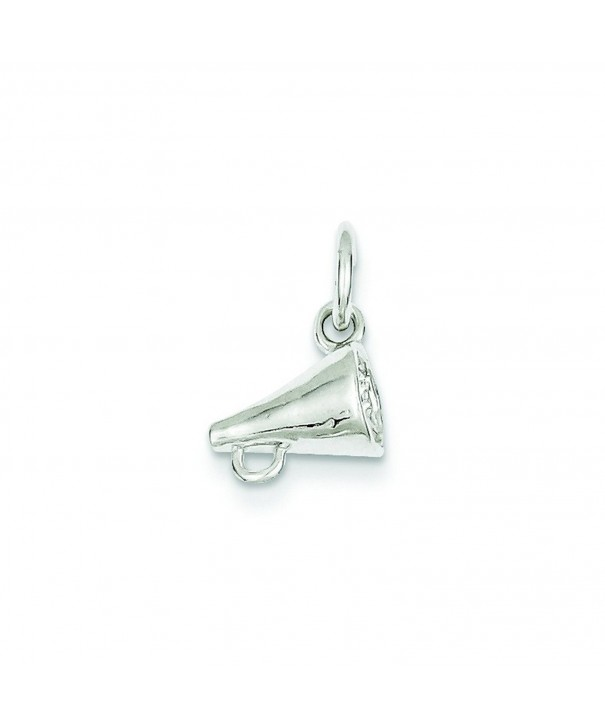Shop4Silver QC766 Sterling Silver Megaphone