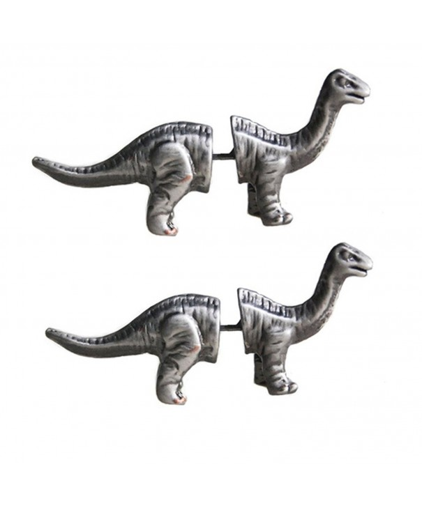Tabwing Dinosaur Piercing Earrings Silver